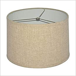 Amazon Com Tootoo Star Brown Lamp Shade Large Drum Lampshade For