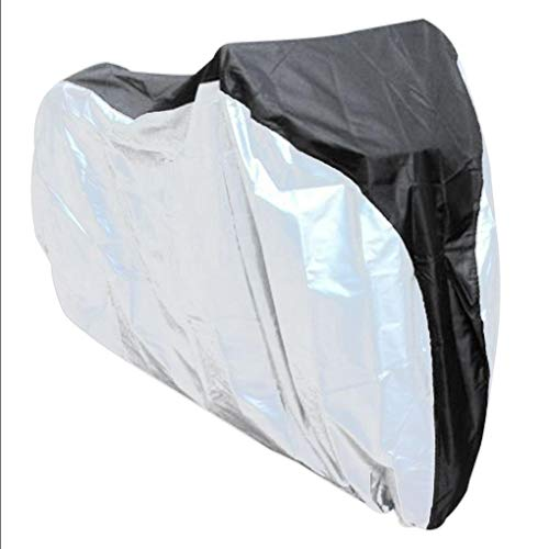 Polyester 190t - Aromzen Bicycle Hood Waterproof Anti-UV Covers 190T Polyester Taffeta Bike Shelter Dust Rain Protecor Outdoor
