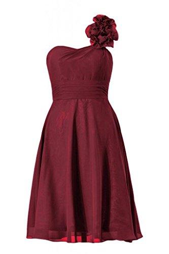 Short Bridesmaid line A DaisyFormals Dress Scarlet Party Dress BM10358 Shoulder 10 One dark Ypx6pq0wI