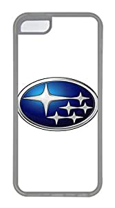 iPhone 4 4s Case, iPhone 4 4s Cases - Scratch Resistant Crystal Clear Case for iPhone 4 4s Subaru Car Logo 1 Thinnest Ultra Flexible Soft Back Case for iPhone 4 4s