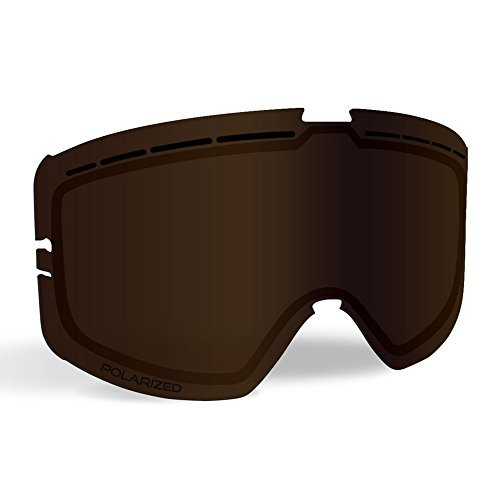 Bronze Polarized Accessories - 509 Kingpin Goggle Lenses - Polarized Bronze