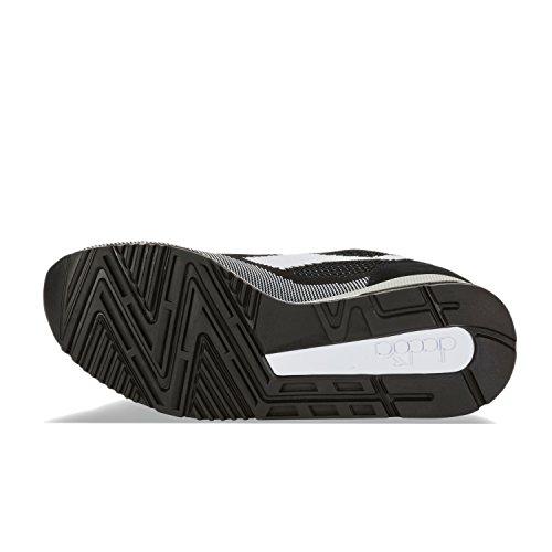 Diadora Scarpe Sportive V7000 Weave per Uomo e Donna C1092 - Nero-bianco-nero