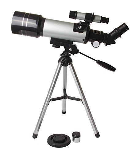 Fovitec StudioPRO 70mm Refracting Telescope (400mm) Celestral Kid Friendly Science Kit by Fovitec
