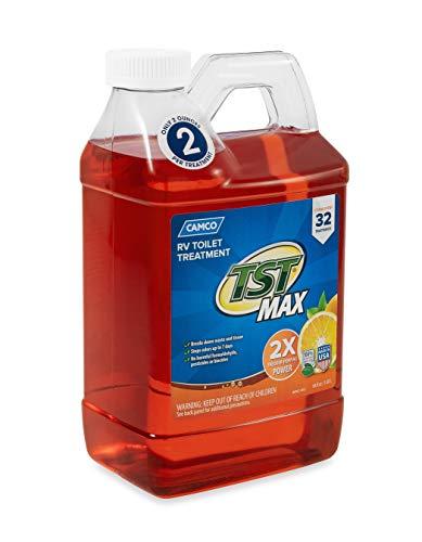 Buy camco tst orange power toilet treatment, 64 oz