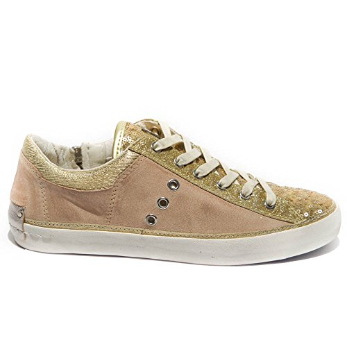 Basse 25020s16b Sneakers Oro Pelle Crime London Antico Art Tq7xE