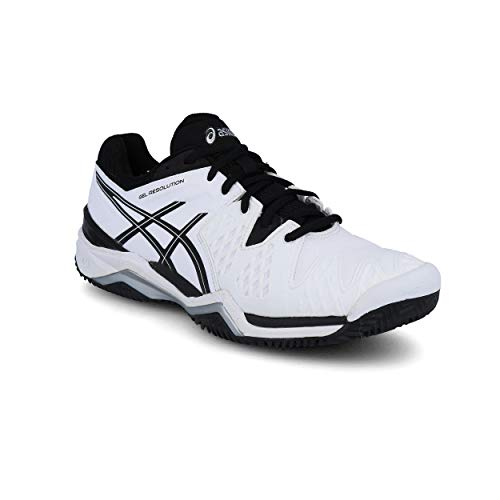 Clay Gel Asics Tenis Zapatillas De Blanco 6 Hombre resolution Para Atqrfdqw