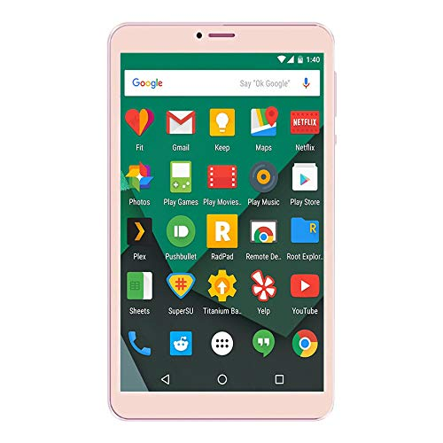 Ikall N1 Tablet (8 inch, 1GB-8GB, WiFi + 4G LTE + Voice Calling), Gold