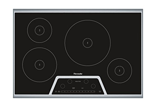 Thermador CIT304KB 30 in. Induction Cooktop, Black With Stainless Steel Frame