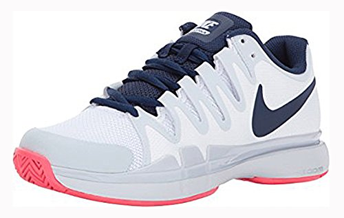 Nike Women's Zoom Vapor 9.5 Tour Tennis Shoes(Size 7, White/Binary Blue)
