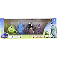 Beverly Hills Teddy Bear Company Monsters Inc. Toy Figure, 4-Pack