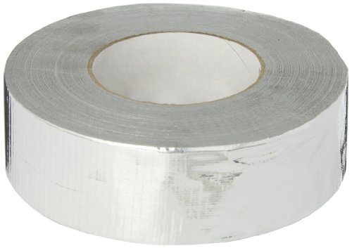 Nashua 365 Polyethylene Coated Cloth Professional Grade Duct Tape, 55m Length x 48mm Width, Metallic by Nashua
