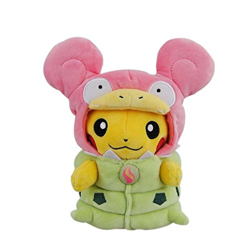 [7.5 inch, Pikachu Cosplay Plush Toys Stuffed Doll (Style#7)] (Spawn Costume For Kids)