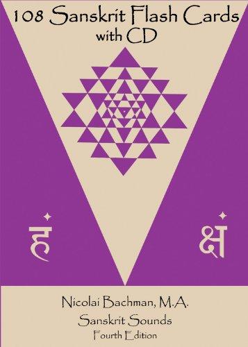 108 Sanskrit Flash Cards (Flash Card Rubber Bands)
