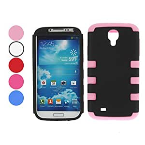 Detachable Case for Samsung Galaxy S4 I9500 (Assorted Colors) --- COLOR:Pink