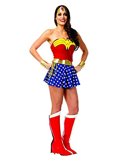 Charades DC Comics Wonder Woman Adult Costume, As Shown, ()