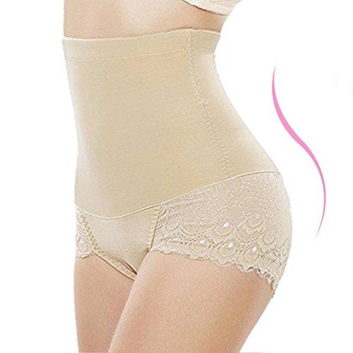 - Jason&Helen Strapless Body Shaper High Waist Tummy Control Shapewear for Women Butt Lifter Panty 3XL,Apricot