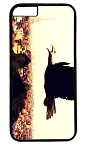 Eagle On The Paris Sky Thanksgiving Easter PC Black Case for Masterpiece Limited Design iphone 6 by Cases & Mousepads