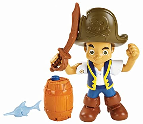 Fisher-Price Jake and The Never Land Pirates Action Figure Pack - Jake (Buccaneer Battling Jake)