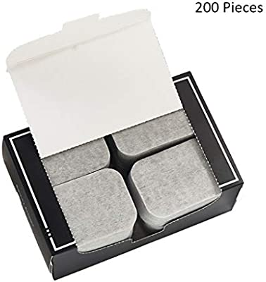 200 unids/pack Bambú Carbón Almohadillas de Algodón Limpiador ...