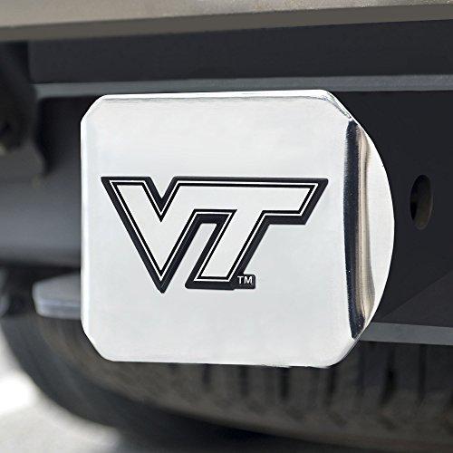 Hitch Virginia Tech Cover (FANMATS NCAA Virginia Tech Hokies Chrome Hitch Cover)
