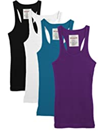 Trendyfriday Womens Must Have Essential Basic Ribbed Tank Tops