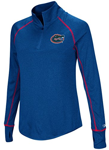 Colosseum Florida Gators Women's NCAA Superstar 1/4 Zip Long Sleeve Wind Shirt