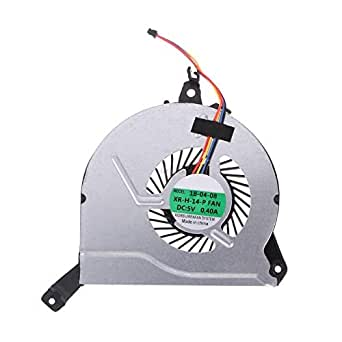 SWCCF New Laptop CPU Cooling Fan for HP 17-P121wm 15-P 14-V 767776-001 767706-001 773447-001
