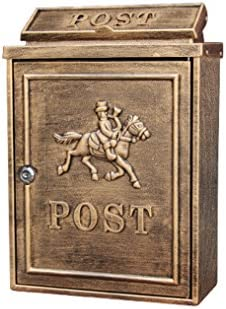KTYX 郵便受け屋外防水メールボックス屋外雨水別荘メールボックスロック文字ボックス メールボックス