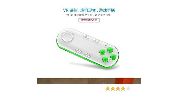 Morza Control Remoto MOCUTE 051 Bluetooth Gamepad VR inalámbrico de Juegos Game Pad Android Smart TV Box Joystick Selfie Obturador: Amazon.es: Hogar
