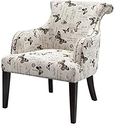 Madison Park Alexis Rollback Accent Chair Multi See Below