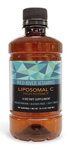 Liposomal Vitamin C 1250mg 10oz - 60 Servings (High Potency, Non-GMO) Gluten-Free, Vegetarian,