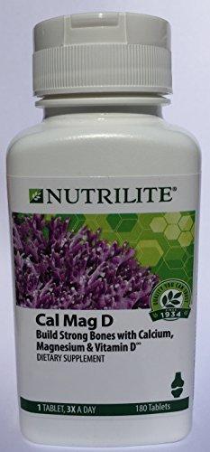 NUTRILITE Cal Mag D 180 tablets Cal Mag Tablet Vitamins