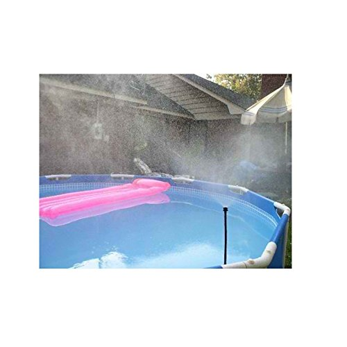 MR RAINBOW MISTER POOL PATIO & PLANT COOLING MISTER MISTY...