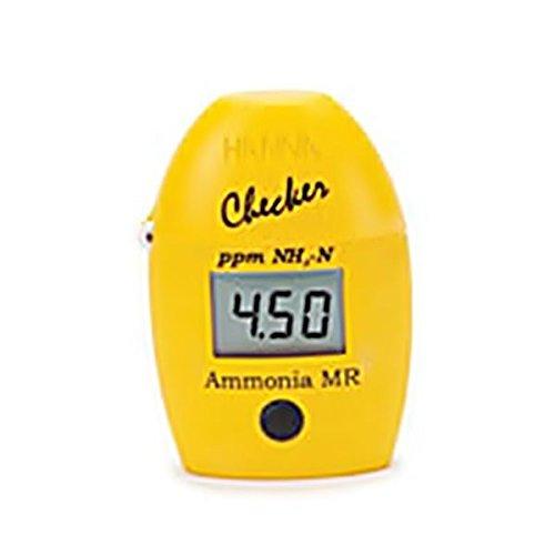 Hanna Instruments HI-715 Checker HC Handheld colorimeter for Ammonia, Medium Range (0.99 to 99.9 ppm)