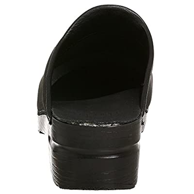 Dansko Stylish Karl Men Mules & Clogs Shoes, Elegant Footwear, Fashion, Black?Oiled, Size - 46