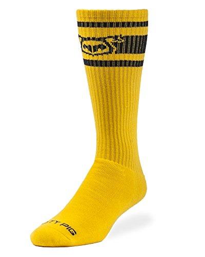 Nasty Pig Hook'd Up Sport Socks 2.0 (Yellow)