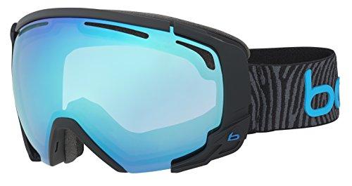 Bolle Supreme Otg Matte Modulator 2.0 Vermillion Blue NXT Googles, Black/Neon Blue, One - Bolle Modulator Goggles Vermillion Ski