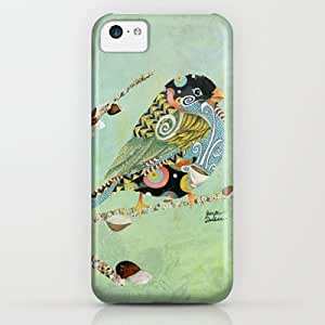 Society6 - Cafe Swirly Bird 5 iPhone & iPod Case by Jennifer Lambein wangjiang maoyi