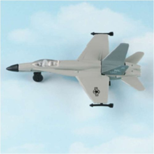 Hot Wings F-18 Hornet (with military markings) with Connectible Runway