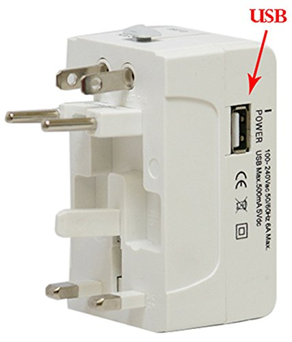 Universal Travel Power Plug Adapter