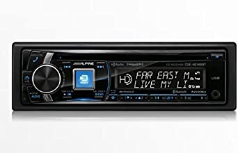 Alpine CDE-HD148BT CD Receiver with built-in Bluetooth HD Radio