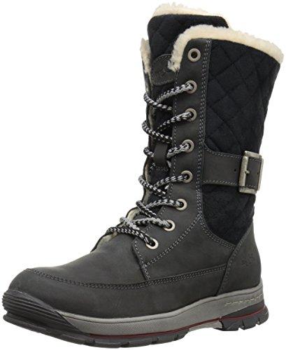 Bos. & Co. Womens Greer Boot Nero Montagna / Micro Trapunta