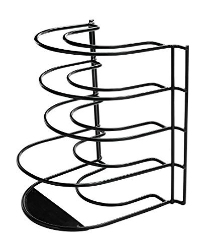 Rubbermaid Pan Organizer, Cookware Rack, Black (Metal Cabinet Rubbermaid)