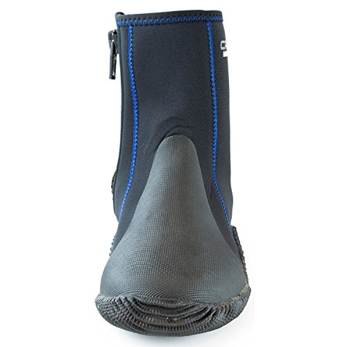 With Sole By Water 1946 Minorca Neoprene Black Cressi blue Tall Made Since Sport Boots Quality W8q7Tw5wIC