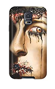 S5 Snap On Case Cover Skin For Galaxy S5 Creepy