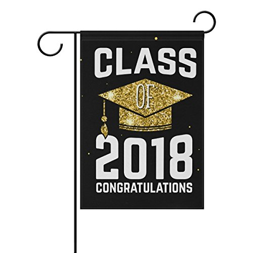 ALAZA Congratulations Graduation Double Sided Yard Garden Fl