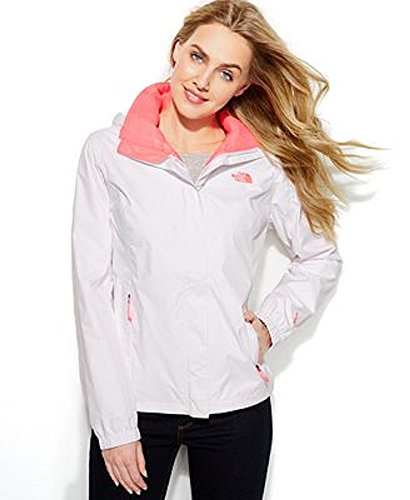 the-north-face-womens-pink-white-jacket-resolve-zip-up-waterproof-s