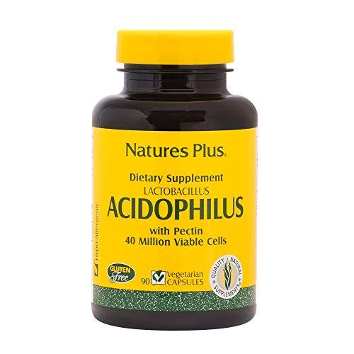 Nature's Plus Acidophilus Lactobacillus – 90 Vegetarian Capsules