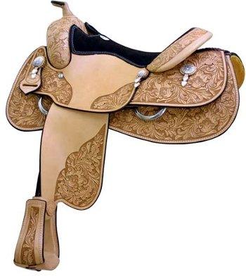 UPC 641997103994, Saddlesmith John Slack Reiner Saddle 16