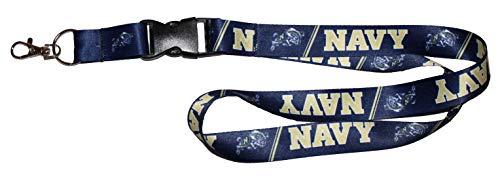 WinCraft United States Naval Academy Navy Midshipmen Premium Lanyard Id Holder ()